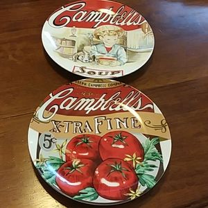 Campbell's Heritage Collection Plates